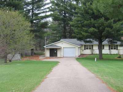 Single Family Home Active-No Offer: W3980 Hwy H