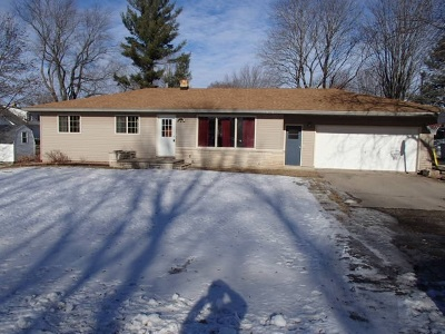 Bonduel Single Family Home Active-No Offer: 201 E Legion