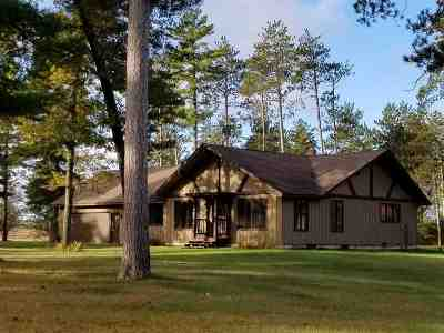 Marinette County Single Family Home Active-No Offer: W8498 Pheasant