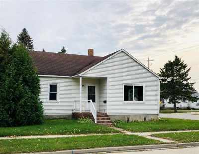 Menominee Single Family Home Active-No Offer: 1717 23rd