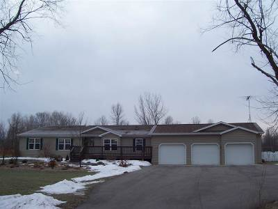 Peshtigo Single Family Home Active-Offer No Bump-Show: W4559 Hwy B