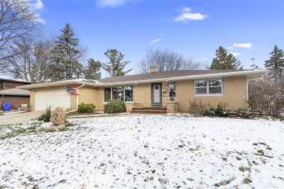 Appleton WI Single Family Home Active-No Offer: $189,900