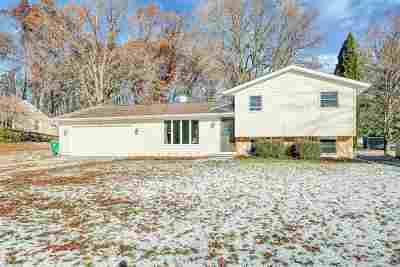Green Bay Single Family Home Active-No Offer: 2680 West Point