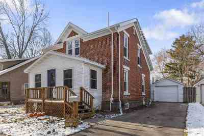 De Pere Single Family Home Active-No Offer: 311 N 6th