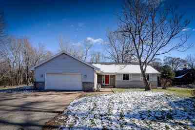 Appleton WI Single Family Home Active-No Offer: $244,900