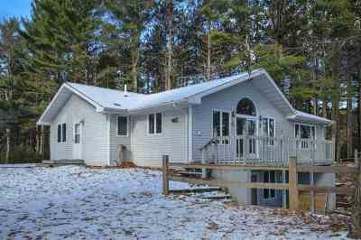 Single Family Home Active-No Offer: N8698 Spruce Lake