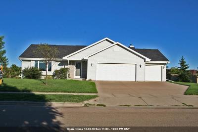 Menasha Single Family Home Active-No Offer: 1283 Southfield