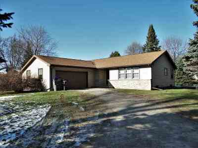 Appleton WI Single Family Home Active-No Offer: $145,000