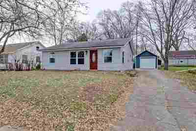 Kaukauna Single Family Home Active-Offer No Bump: 616 Meade