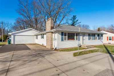 Appleton WI Single Family Home Active-No Offer: $170,000