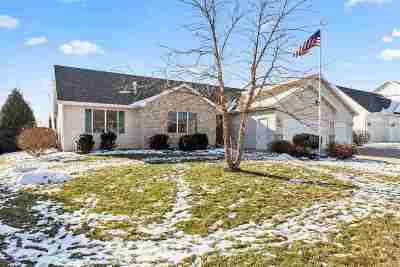 Neenah Single Family Home Active-No Offer: 1306 Winter Wheat