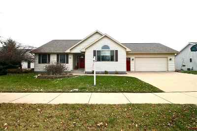 Oshkosh Single Family Home Active-Offer No Bump: 3111 Mockingbird