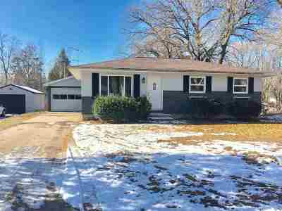 Shawano Single Family Home Active-No Offer: 1119 S Weed