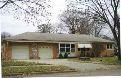 Green Bay Single Family Home Active-No Offer: 820 Thrush