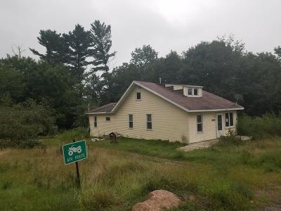 Mountain Single Family Home Active-No Offer: 14353 Hwy W