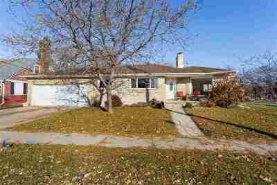 Menasha Single Family Home Active-No Offer: 824 8th