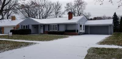 Green Bay Single Family Home Active-No Offer: 1293 Kellogg