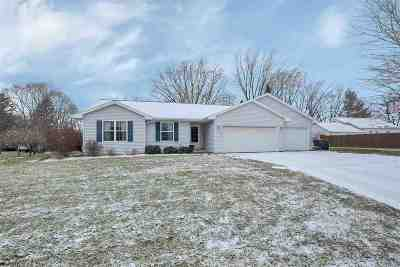 Green Bay Single Family Home Active-No Offer: 3080 Roundabout