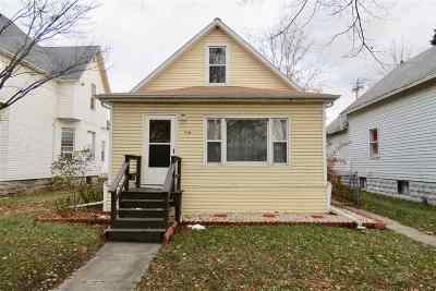 Green Bay Single Family Home Active-No Offer: 718 N Chestnut