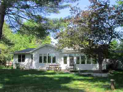 Shawano Single Family Home Active-No Offer: N7111 River
