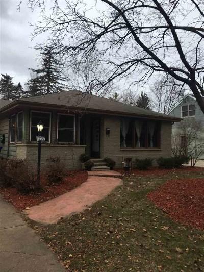 Appleton Single Family Home Active-No Offer: 1721 S Carpenter
