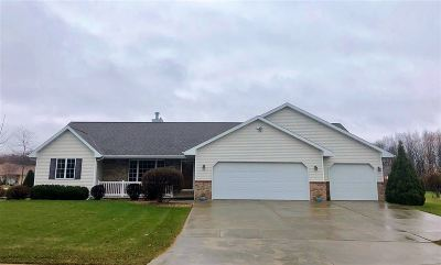 Green Bay Single Family Home Active-No Offer: 2458 Wilder