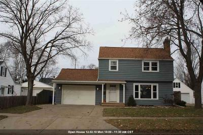 Appleton Single Family Home Active-No Offer: 1506 W Packard