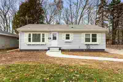 Appleton Single Family Home Active-No Offer: 1631 N Racine