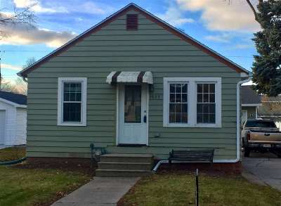 Green Bay Single Family Home Active-No Offer: 1023 Neville