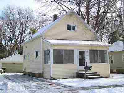 Oshkosh Single Family Home Active-No Offer: 1732 Mt Vernon