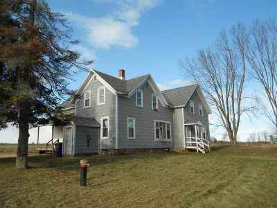 Shawano Single Family Home Active-Offer No Bump: N4791 Capitol