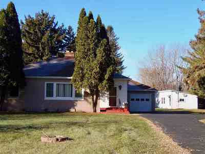 Oshkosh Single Family Home Active-No Offer: 4277 S Hwy 45