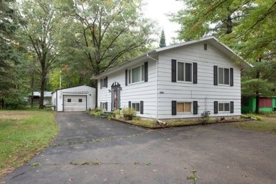 Shawano Single Family Home Active-No Offer: W4944 Lake