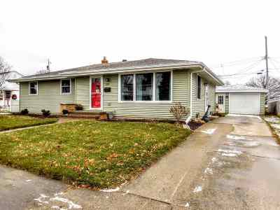 Appleton Single Family Home Active-Offer No Bump: 208 W Pershing
