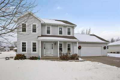 Appleton Single Family Home Active-Offer No Bump: 6028 W Blazing Star