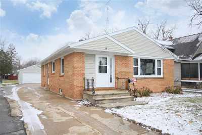 Oshkosh Single Family Home Active-No Offer: 2027 Doty