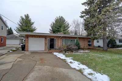 Appleton Single Family Home Active-Offer No Bump: 1627 Palisades