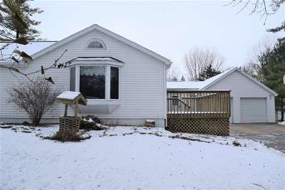 Black Creek Single Family Home Active-Offer No Bump: N8284 Old Hwy 47
