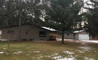 Marinette Single Family Home Active-No Offer: W1323 Hwy B