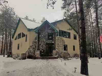 Waupaca Single Family Home Active-No Offer: N2043 Virginia