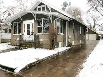 Oshkosh Single Family Home Active-No Offer: 1513 Central