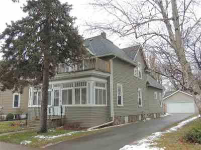 Appleton Single Family Home Active-No Offer: 1403 N Oneida