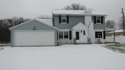 Green Bay Single Family Home Active-No Offer: 2940 Suzanne