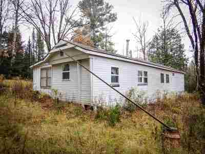 Wausaukee Single Family Home Active-No Offer: W4805 Hwy K