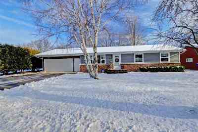 Appleton Single Family Home Active-Offer No Bump: 3600 N Mariah