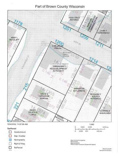 Green Bay Residential Lots & Land Active-No Offer: 1200 Doty