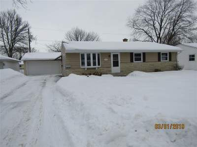 Green Bay Single Family Home Active-No Offer: 601 Karl