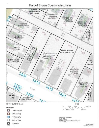 Green Bay Residential Lots & Land Active-No Offer: 1409 Elm