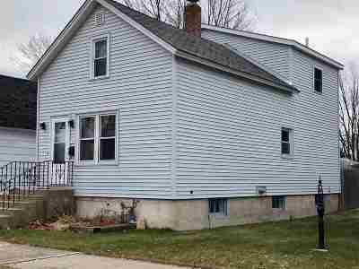 Menominee Single Family Home Active-Offer No Bump: 1511 26th