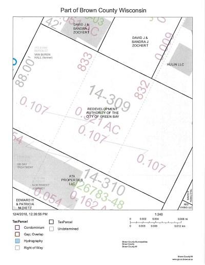 Green Bay Residential Lots & Land Active-No Offer: 115 S Van Buren